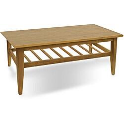 Jesper Office Teak Wood Coffee Table - Overstock™ Shopping - Great