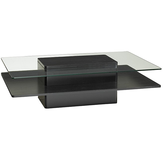 Jesper Glass Dark Wood Coffee Table 14198094 Shopping Great Deals On Jesper