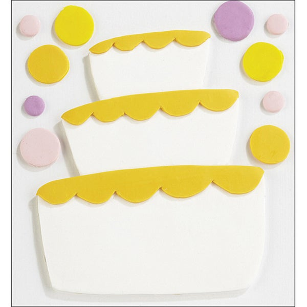 Jolee's Confections 'Fondant Tier Cake' Stickers