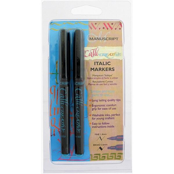 CalliCreative Markers 2/Pkg-Turquoise