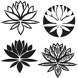Crafter's Workshop Lotus Blossom 6x6 Templates