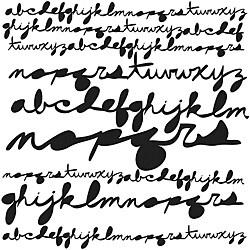 Crafter's Workshop Cursive Alphabet 6x6 Templates