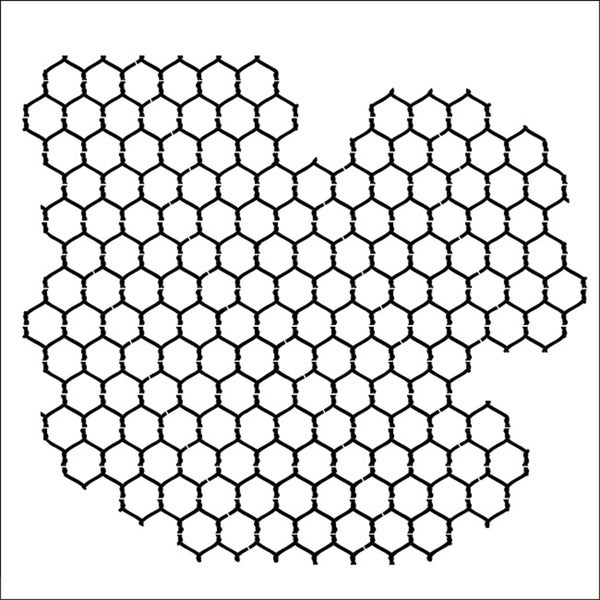 Crafter's Workshop Chickenwire Reversed 12x12 Templates