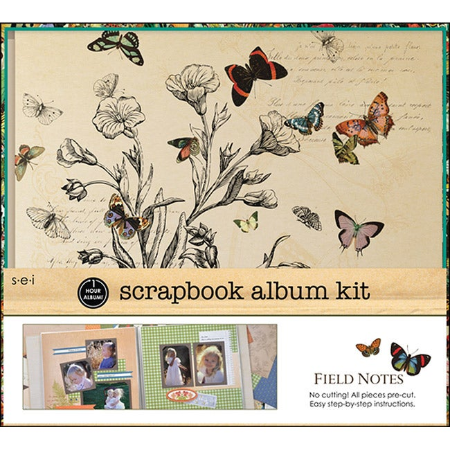 Field of Notes Scrapbook Kit