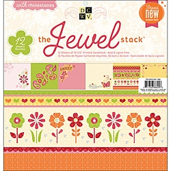 Die Cuts with a View Jewel Paper Stack (24 Sheets)