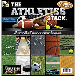 Die Cuts with a View Athletics Paper Stack (Set of 48 Sheets)