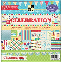 Die Cuts with A View Celebration Paper Stack (Set of 48 Sheets)