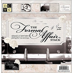 Die Cuts with a View Formal Affair Paper Stack ( Set of 48 Sheets)