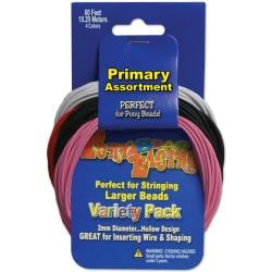 Pepperell Pony Bead Lacing Variety Pack
