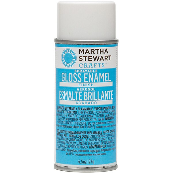 Martha Stewart Sprayable Gloss Enamel Finish (4.5-ounce)