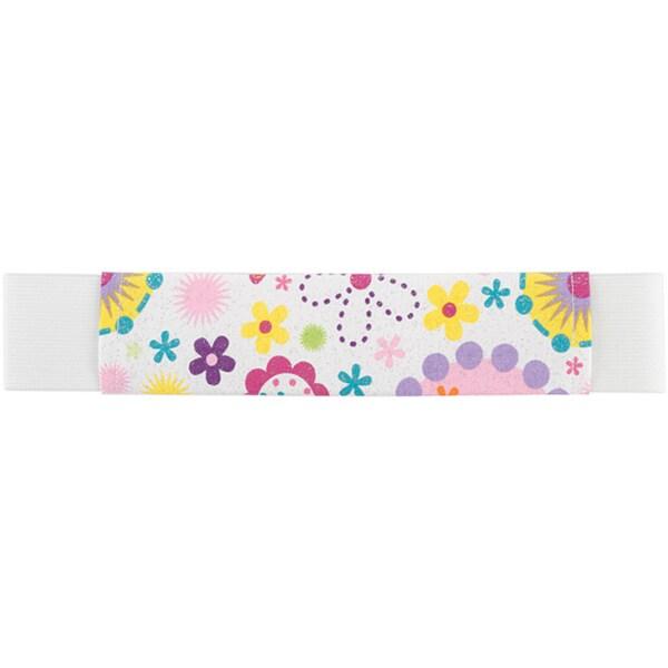 ScrapBand Elastic 'Bright Flower' Fabric Band