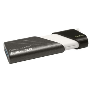 Kingston 64GB DataTraveler Elite USB 3.0 Flash Drive - Tri-colored