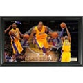 Los Angels Lakers Kobe Bryant Pano Collectible Framed Photo
