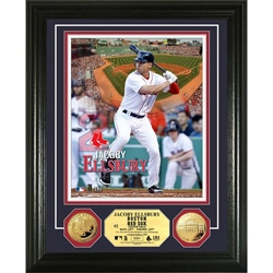 Boston Red Sox Jacoby Ellsbury Gold Coin Photo Mint