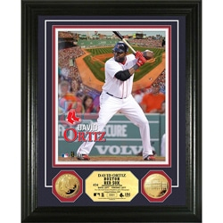 Boston Red Sox David Ortiz Gold Coin Photo Mint