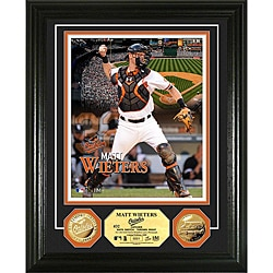 Matt Wieters Gold Coin Photo Mint