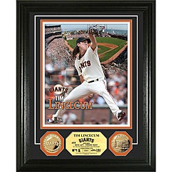 Tim Lincecum Gold Coin Photo Mint