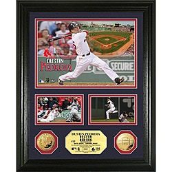 Dustin Pedroia Gold Coin 'Showcase' Photo Mint
