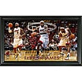 LeBron James Pano Frame (12 x 20)