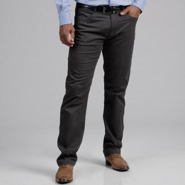 Calvin Klein Men's Gunmetal Bowery Pants