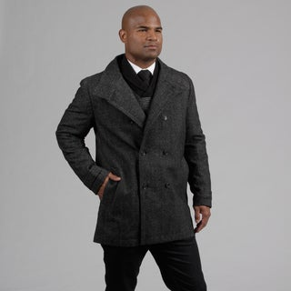 Calvin Klein Men's Wool Blend Peacoat FINAL SALE