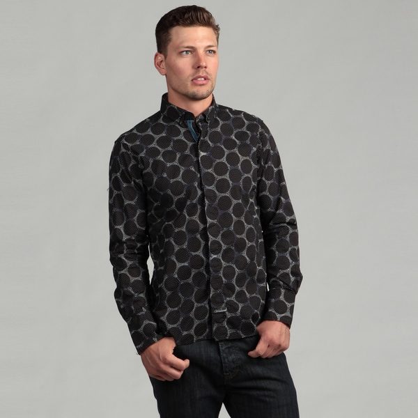 Scott Weiland Men's Black Woven Shirt