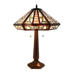 Tiffany Style Roma Table Lamp