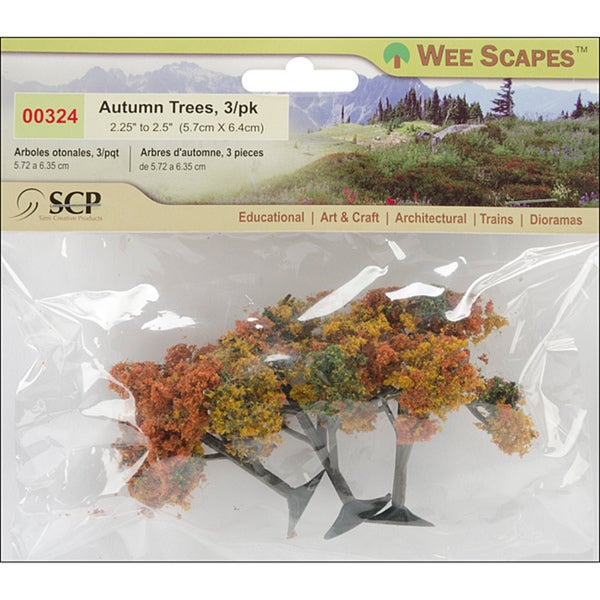 SCP Autumn Trees (Pack of 3)