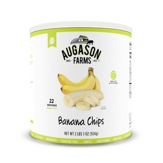 Augason Farms Honey Coated Banana Slices (Pack of 3)