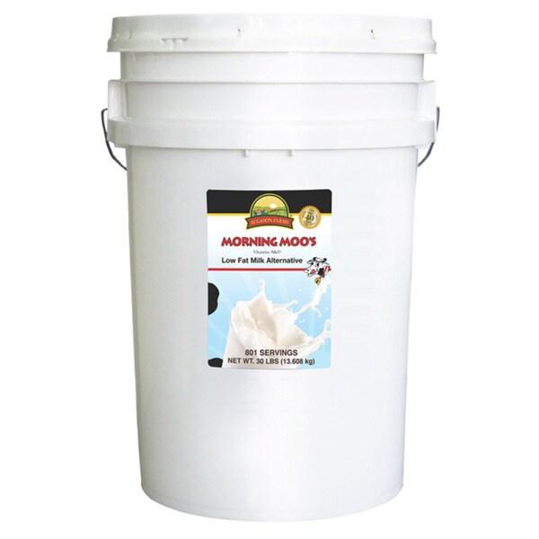 Augason Farms 6-Gallon Morning Moo's Low Fat Milk Alternative Pail