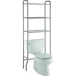 Taymor Modern Space Saver Three-shelf Bathroom Shelf