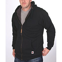 Farmall IH Men's Big/Tall Sherpa Lined Black Hoodie