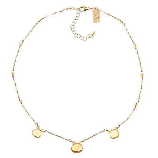 14k Gold-filled Citrine Necklace