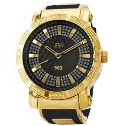 JBW Men's 562 Diamond Mineral Crystal Watch