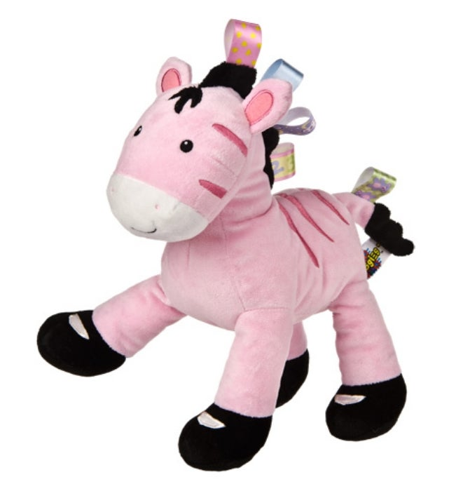 Mary Meyer Taggies Zoey Zebra Soft Toy