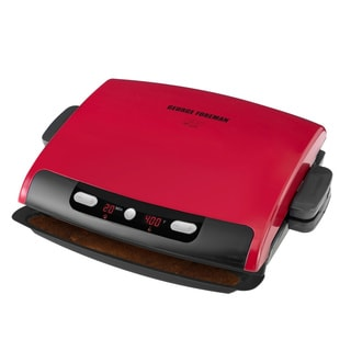 George Foreman Red 100-sq-in Grill