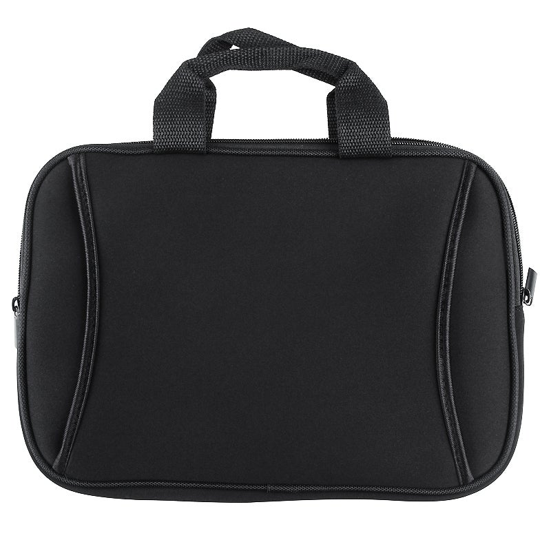 10-inch Black Laptop Bag with Zipped Outside Pocket