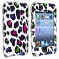 Colorful Leopard Snap-on Case for Apple iPod Touch Generation 2/ 3