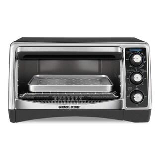 Black & Decker Black 6-slice Toaster Oven