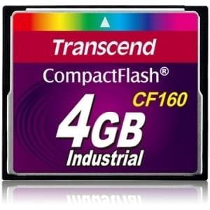 Transcend 4 GB CompactFlash (CF) Card