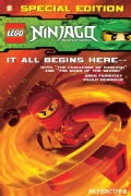 Ninjago 1: The Challenge of the Samukai/ Mask of the Sensei Bind-up (Paperback)