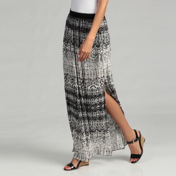 Kenneth Cole Women's Print Knit Maxi Skirt FINAL SALE