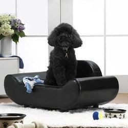 Enchanted Home Pet BlackThe Luxe Lounger