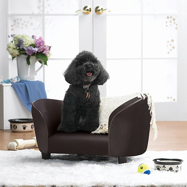 Enchanted Home Pet Brown Pebble Snuggle Bed