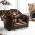Enchanted Home Pet Brown Headboard Pet Bed