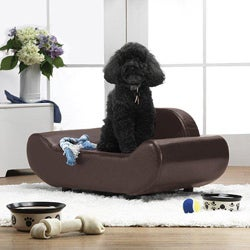 Enchanted Home Pet Brown The Luxe Lounger
