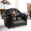 Enchanted Home Pet Black Headboard Pet Bed
