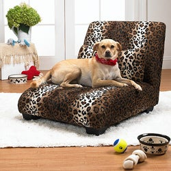 Enchanted Home Pet Leopard The Elliot Chaise