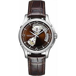 Hamilton Men's Open Heart Marron Dial Watch