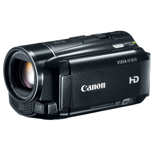 Canon VIXIA HF M50 8GB HD Digital Camcorder